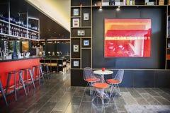 Interior of stylish empty hotel Royalty Free Stock Image