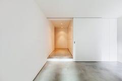 Interior house, empty room stock image