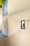 Interior of stylish modern house Royalty Free Stock Photography