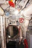 Interior of submarine Stock Photo