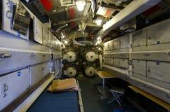 Interior submarino fotos de archivo libres de regalías