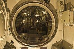 Interior submarino Fotografía de archivo libre de regalías
