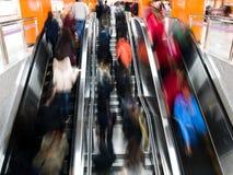 Interior of a subway station Royalty Free Stock Photos