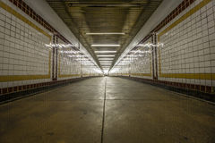 Interior of a subway station Royalty Free Stock Photography