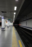 Interior of subway station in Istanbul Royalty Free Stock Images