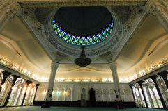 Interior of Sultan Abdul Samad Mosque (KLIA Mosque) Stock Photography