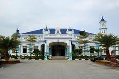 Interior of The Sultan Ibrahim Jamek Mosque at Muar, Johor Royalty Free Stock Image