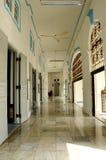 Interior of The Sultan Ibrahim Jamek Mosque at Muar, Johor Stock Photo
