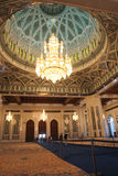 Interior of Sultan Qaboos Mosque - Muscat, Oman Stock Images