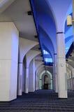 Interior of Sultan Salahuddin Abdul Aziz Shah Mosque a.k.a Shah Alam Mosque Stock Photography