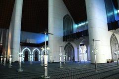 Interior of Sultan Salahuddin Abdul Aziz Shah Mosque a.k.a Shah Alam Mosque Stock Photos