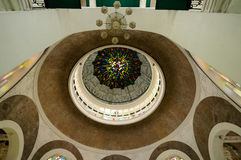 Interior of Sultan Sulaiman Mosque in Klang Stock Image