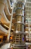 Interior of Suria KLCC shopping mall in Kuala Lumpur. Kuala Lumpur, Malaysia -January 7, 2016: Interior of Suria KLCC shopping mall. It is six level shopping Stock Photos