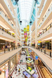 Interior of Suria KLCC shopping mall, Kuala Lumpur in Malaysia Royalty Free Stock Photography