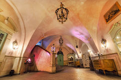 Interior of Swidnicka Basement - the heart of Wroclaw Stock Images