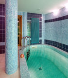 Interior of a swimming pool Stock Images