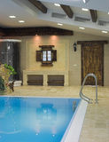 Interior of a swimming pool Royalty Free Stock Photography