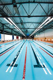 Interior of swimming pool Stock Images