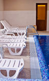 Interior of swimming pool Stock Photography