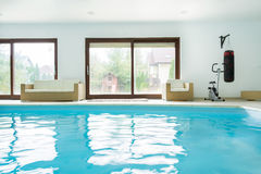 Interior swimming pool Stock Photography