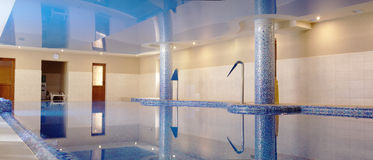 Interior of the swimming pool Royalty Free Stock Photography