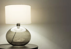 Interior, table lamp Royalty Free Stock Photography