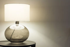 Interior, table lamp Royalty Free Stock Image