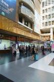 Interior of Taipei Railway Station Royalty Free Stock Images