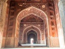 Interior of Taj Mahal. The interior of the great building of 7 wonder in asia, Taj Mahal Royalty Free Stock Image