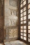 Interior of taj mahal mausoleum in India Royalty Free Stock Images