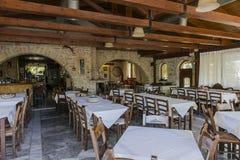 Tavern in Crete Stock Photo