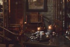 Interior tea room Stock Photography