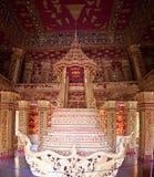 Interior of temple Haw Pha Bang Royalty Free Stock Photos
