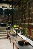Interior. Templo de Kun Iam, Macau. imagen de archivo libre de regalías