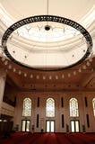Interior of Tengku Ampuan Jemaah Mosque in Selangor, Malaysia Stock Photos
