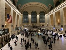 Interior terminal de Grand Central imagen de archivo
