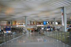 Interior of ternminal 2 in Hong Kong international airport Stock Image