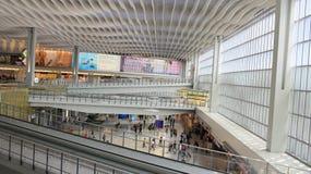 Interior of ternminal 2 in Hong Kong international airport Stock Images