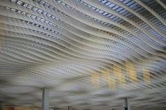 Interior of ternminal 2 in Hong Kong international airport Royalty Free Stock Photo