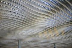 Interior of ternminal 2 in Hong Kong international airport Royalty Free Stock Image