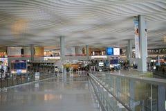 Interior of ternminal 2 in Hong Kong international airport Royalty Free Stock Images