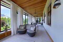 The interior terraces Stock Photos