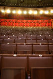 Interior of theater Stock Photography