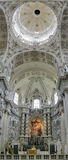 Interior of the Theatine Church in Munich, Germany Stock Photography