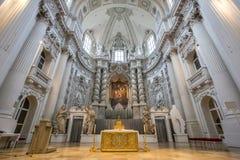 Interior of Theatine Church Stock Photo