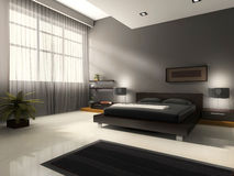 Interior to bedrooms Stock Photo
