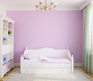 Interior of toddler room. Royalty Free Stock Photography