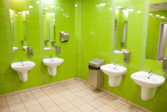 Interior of the toilet Royalty Free Stock Images