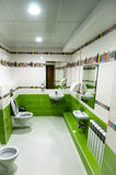 Interior of toilet for kids Stock Photos