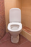 Interior of Toilet seat Stock Images
